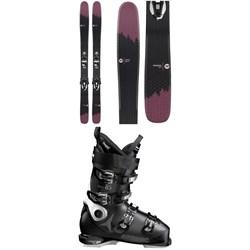 Rossignol Sky 7 HD W Skis + Konect NX 12 GW Ski Bindings + Atomic Hawx Ultra 85 W Ski Boots - Women's