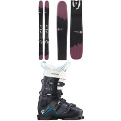 Rossignol Sky 7 HD W Skis + Konect NX 12 GW Ski Bindings + Salomon S/Max 90 W Ski Boots - Women's