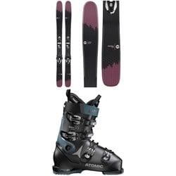 Rossignol Sky 7 HD W Skis + Konect NX 12 GW Ski BindingS + Atomic Hawx Prime 95 W Ski Boots - Women's