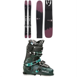 Rossignol Sky 7 HD W Skis + Konect NX 12 GW Ski Bindings + Dalbello Chakra AX 90 Ski Boots - Women's