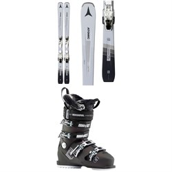 Atomic Vantage 75 C W Skis ​+ L 10 GW Bindings ​+ Rossignol Pure Heat Ski Boots - Women's