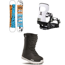 GNU Money C2E Snowboard ​+ Bent Metal Joint Snowboard Bindings ​+ thirtytwo Shifty Snowboard Boots 2021
