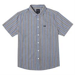 RVCA Harbor Stripe Short-Sleeve Shirt