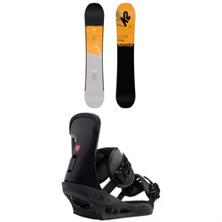 K2 Raygun Pop Snowboard  + Burton Freestyle Snowboard Bindings 2019