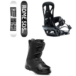 Rome Mechanic SE Snowboard ​+ United Snowboard Bindings ​+ thirtytwo Exit Snowboard Boots 2020