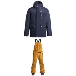Airblaster Grampy 3000 Jacket + Stretch Krill Bib Pants