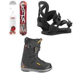 CAPiTA Scott Stevens Mini Snowboard + Union Cadet Pro Snowboard Bindings + Union Cadet Snowboard Boots - Kids' 2021
