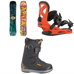 CAPiTA Children Of The Gnar Snowboard + Union Cadet Pro Snowboard Bindings + Union Cadet Snowboard Boots - Kids' 2021