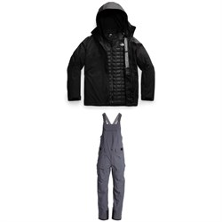 The North Face ThermoBall™ Eco Snow Triclimate® Jacket + Freedom Bibs