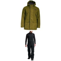 The North Face Goldmill Parka + Freedom Bibs