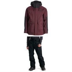 The North Face Balfron Jacket + Slashback Cargo Pants