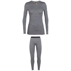 Icebreaker 200 Oasis Baselayer Crew Top ​+ 200 Oasis Baselayer Leggings - Women's