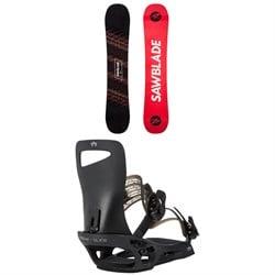 Rossignol Sawblade Snowboard + Rome Slice SE Snowboard Bindings