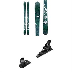 Line Skis Pandora 84 Skis - Women's ​+ Salomon Warden MNC 11 Ski Bindings 2021