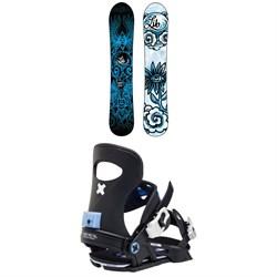 Lib Tech Dynamiss C3 Snowboard + Bent Metal Forte Snowboard Bindings - Women's 2021