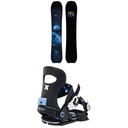 GNU Barrett C3 Snowboard ​+ Bent Metal Forte Snowboard Bindings - Women's 2021