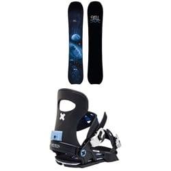GNU Barrett C3 Snowboard + Bent Metal Forte Snowboard Bindings - Women's 2021