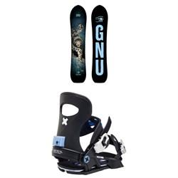 GNU Free Spirit C3 Snowboard + Bent Metal Forte Snowboard Bindings - Women's 2021