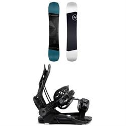 Nidecker Sensor Snowboard + Flow Fenix Snowboard Bindings 2021
