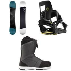 Nidecker Sensor Snowboard + Muon-X Snowboard Bindings + Ranger Boa Snowboard Boots 2020