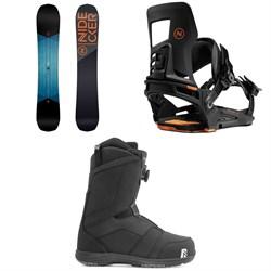 Nidecker Score Snowboard + Muon-X Snowboard Bindings + Ranger Boa Snowboard Boots 2021