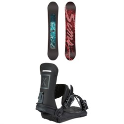 Sims The Day - Ocean Snowboard ​+ Fix Yale Ltd Snowboard Bindings 2021