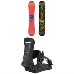 Sims Los Snowboard + Fix Yale Ltd Snowboard Bindings 2021