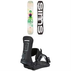Sims Undertaker Snowboard + Fix Yale Ltd Snowboard Bindings 2021