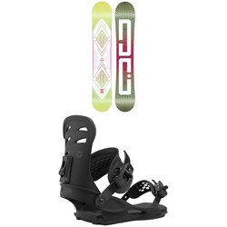 DC Biddy Snowboard + Union Rosa Snowboard Bindings - Women's 2021