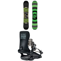 Rome Agent Snowboard ​+ 390 Snowboard Bindings 2021