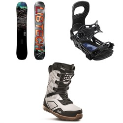 Lib Tech Box Knife C3 Snowboard ​+ Bent Metal Joint Snowboard Bindings ​+ thirtytwo Light JP Snowboard Boots