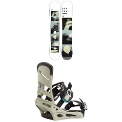 Burton Flight Attendant Snowboard ​+ Mission Snowboard Bindings 2021
