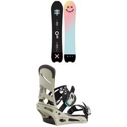 Burton Skeleton Key Snowboard ​+ Mission Snowboard Bindings 2021