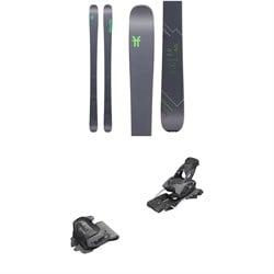 Faction Agent 2.0 Skis 2020 + Tyrolia evo Attack² 13 GW Bindings