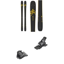 Salomon QST 92 Skis 2020 + Tyrolia evo Attack² 13 GW Bindings
