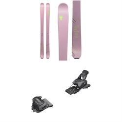 Faction Agent 2.0X Skis - Women's 2020 ​+ Tyrolia evo Attack² 13 GW Bindings
