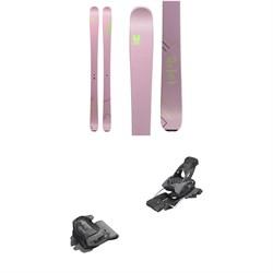 Faction Agent 2.0X Skis - Women's 2020 + Tyrolia evo Attack² 13 GW Bindings