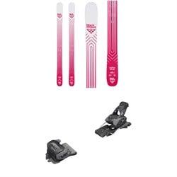 Black Crows Camox Birdie Skis - Women's 2020 + Tyrolia evo Attack² 13 GW Bindings