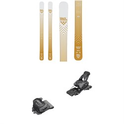 Black Crows Daemon Birdie Skis - Women's 2020 ​+ Tyrolia evo Attack² 13 GW Bindings
