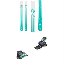 Black Crows Captis Birdie Skis - Women's 2020 ​+ Tyrolia evo Attack² 13 GW Bindings