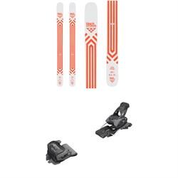 Black Crows Atris Birdie Skis - Women's 2020 + Tyrolia evo Attack² 13 GW Bindings