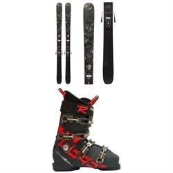 Rossignol Black Ops Smasher Skis + Xpress 10 GW Bindings 2021 + Allspeed Pro 100 Premium Ski Boots