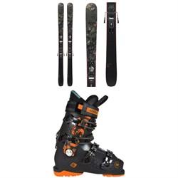 Rossignol Black Ops Smasher Skis + Xpress 10 GW Bindings 2021 + Alltrack 90 Premium Ski Boots