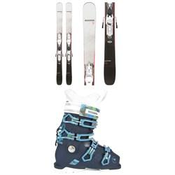Rossignol Black Ops Dreamer Skis + Xpress 10 GW Bindings - Women's 2021 + Alltrack 70 W Premium Ski Boots