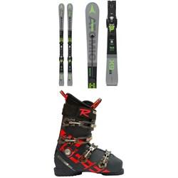 Atomic Redster X9 WB Skis + X 12 TL GW Bindings  + Rossignol Allspeed Pro 100 Premium Ski Boots