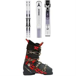 Atomic Savor 5 Skis + FT 10 GW Bindings  + Rossignol Allspeed Pro 100 Premium Ski Boots
