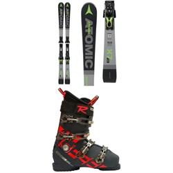 Atomic Redster X7 WB Skis + FT 12 GW Bindings  + Rossignol Allspeed Pro 100 Premium Ski Boots