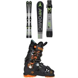 Atomic Redster X7 WB Skis + FT 12 GW Bindings  + Rossignol Alltrack 90 Premium Ski Boots
