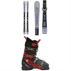 Atomic Redster X6 Skis + FT 11 GW Bindings  + Rossignol Allspeed Pro 100 Premium Ski Boots