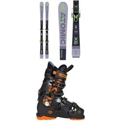 Atomic Redster X6 Skis + FT 11 GW Bindings  + Rossignol Alltrack 90 Premium Ski Boots